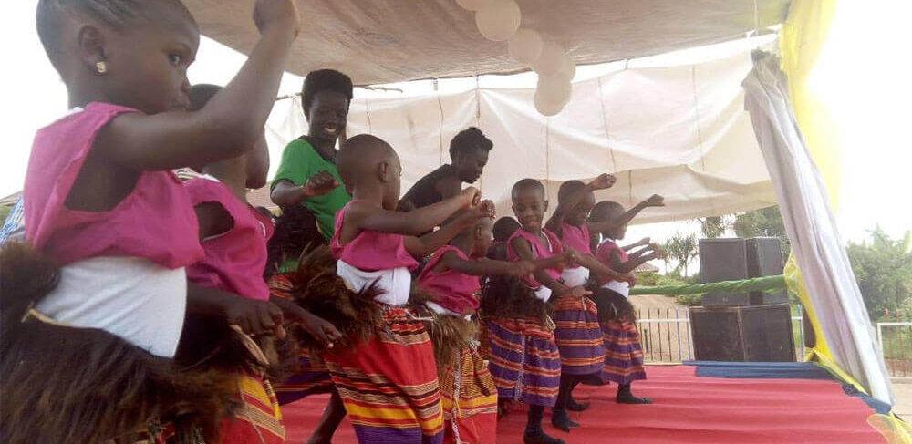 Kampala, Uganda CPC students dance performance