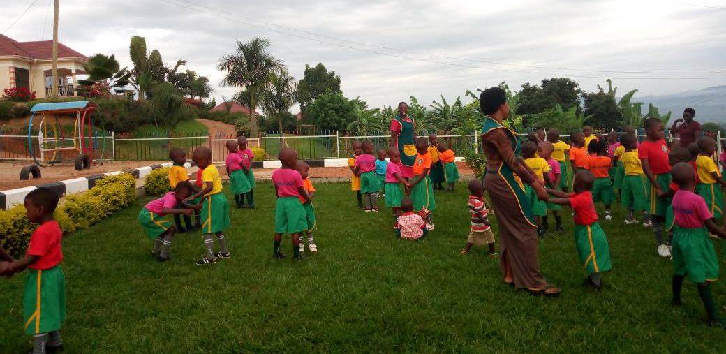 Kampala, Uganda CPC students playground