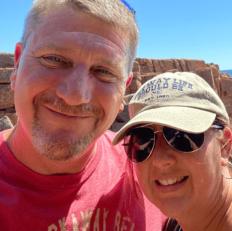 AFO Volunteers - Theodore & Pamela Parkes