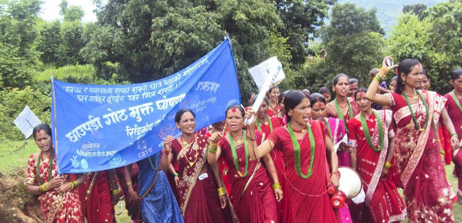 AFO Impact - Nepal - Women's March