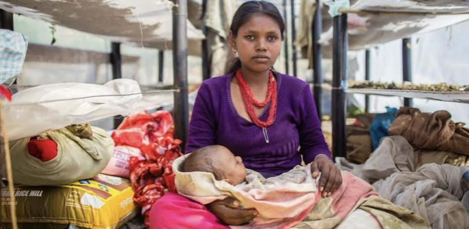 AFO Impact - Nepal - Young Mother & Child