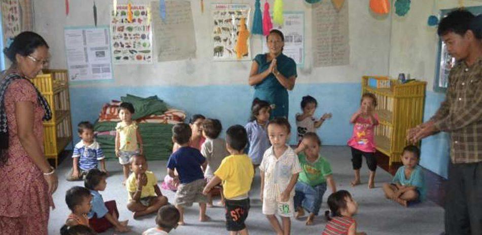 AFO Impact - Nepal - Children daycare