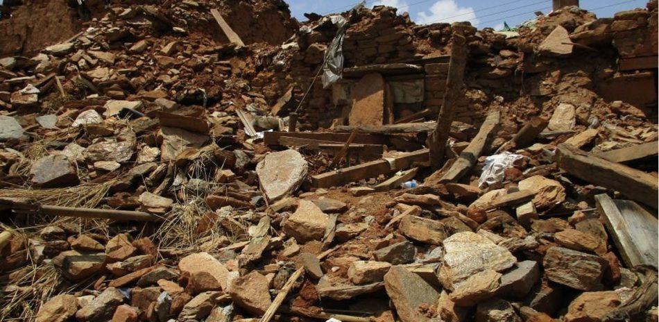 AFO Impact - Nepal - Gorkha Earthquake aftermath